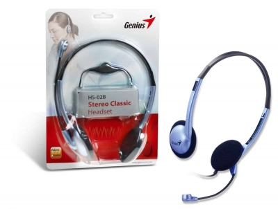 Auriculares C/microfono Genius Hs-02b 2 Plug