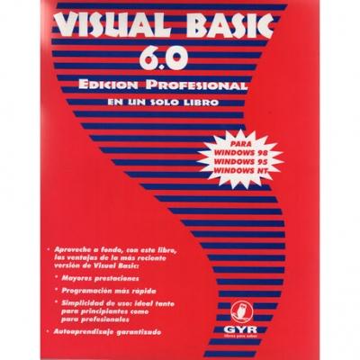 Libros Gyr Visual Basic 6.0 Edicion Profesional En Un Solo Libro