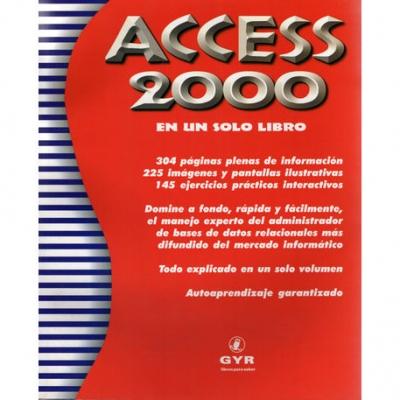 Libros Gyr Access 2000 En Un Solo Libro