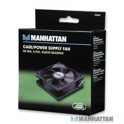 Cooler Ventilador  Manhattan 80x80x25