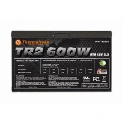 Fuentes Atx Thermaltake Tr2-600  600w Reales Tr2-600nl2nc