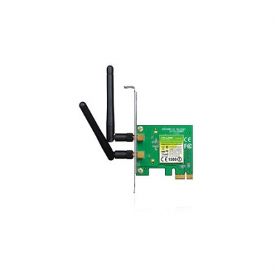 Placa De Red Tp-link Tl-wn881nd Wifi 300mbps 2antenas Pci Express Wireless