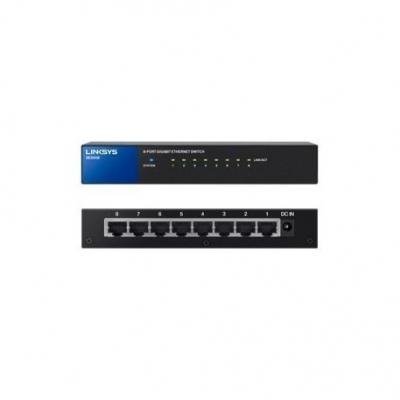 Switch Switch Linksys 8 Puertos Gigabit Se3008 10/100/1000