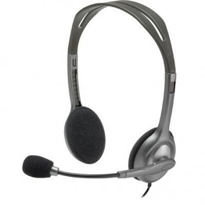 Auriculares C/microfono Logitech H111 1 Plug Notebook Celular Zoom Skype Meet