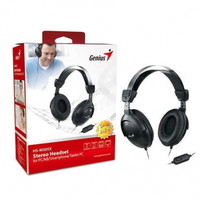 Auriculares C/microfono Genius Hs-m505x Para Notebook