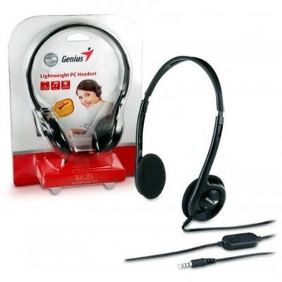 Auriculares C/microfono Genius Hs-m200c Notebook Celular (1 Plug)