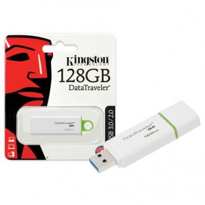 Pen Drive Kingston 128gb Usb 3.0 / 2.0 Dtig4/128gb