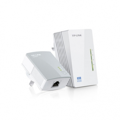 Acces Point Tp-link  Tl-wpa4220kit Av600 Repetidor Por Red Electrica Plc Extensor