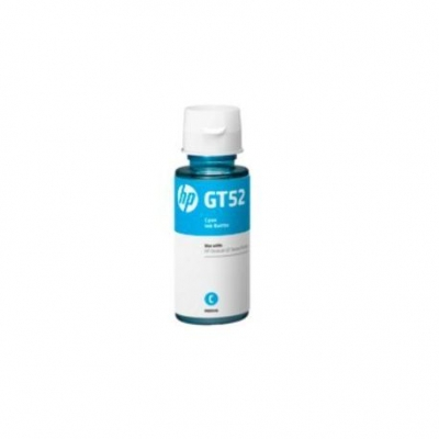 Cartucho Tinta Original Botella Hp Gt52 Cyan  M0h54al