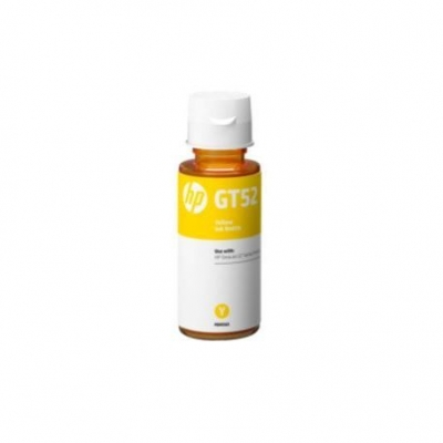 Cartucho Tinta Original Botella Hp Gt52 Amarillo M0h56al