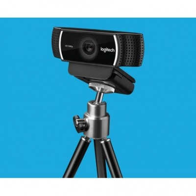 Web Cam Hd Logitech C922 Pro Stream 1080p Con Tripode Con Microfono