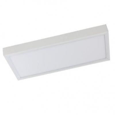 Lampara Led Plafon 24w 20x40 Blanco Frio 180gi De Aplicar
