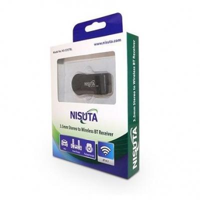 Bluetooth Nisuta Ns-costbl Conversor Bluetooth Auto Estereo Con Bateria