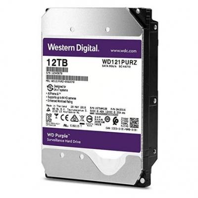 Disco Rigido Sata 3 Wd 12 Tb Purple Western Digital Wd121purz
