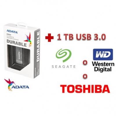 Discos Rigidos Externos Carry Adata Ed600 2.5 Usb 3.0  Antigolpe + Hdd 1 Tb