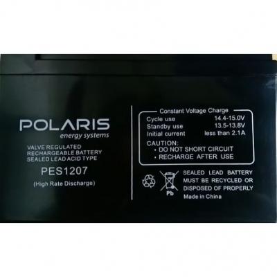 Ups Baterias Polaris 12v 7ah Pes1207 Para Ups