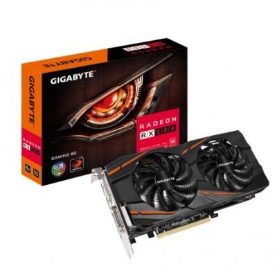 Placas De Video Gigabyte Amd Rx 580 Gaming 8gb Ddr5 Gv-rx580gaming-