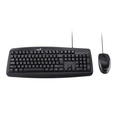 Teclado + Mouse Genius Km-200 Smart Usb Black
