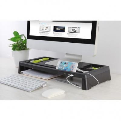 Accesorios Para Notebook Onebox Ob-susb Mesa Base Ergonomica De Escritorio Con  Usb