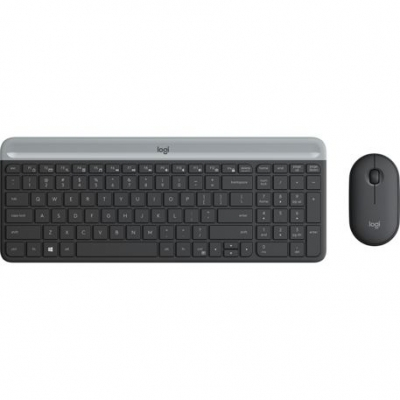 Teclado + Mouse Logitech Mk470 Wireless Slim 920-009266
