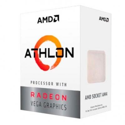 Micro Amd Ryzen Am4 Amd Athlon 3000g C/ Radeon Vega 3 Yd3000c6fhbox