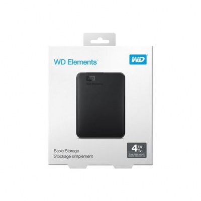 Discos Rigidos Externos Western Digital 4 Tb Elements Usb 3.0  Wdbu6y0040bbk-