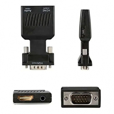 Adaptadores Video Int.co Hdmi Vga Sin Cables 09-031a