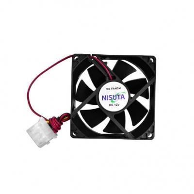 Cooler Nisuta Fan 80x80x25 Mm 12v 4 Pin Nsfan3m