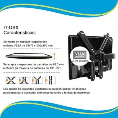 Soportes Intelaid It-dsx Adpatador A Monitores Sin Vesa 13 A 27