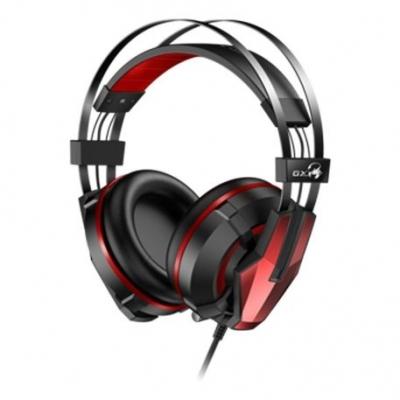 Auricular + Mic Gamer Genius Gx Hs-g710v 7.1 Gaming Black