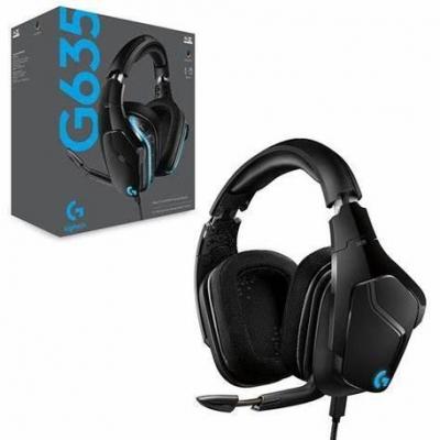 Auricular + Mic Gamer Auricular Logitech G635 Gaming Rgb Lightsyng 981-000748 Pc Ps4 Xbox