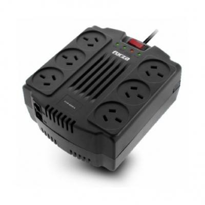 Estabilizadores Forza Fvr-1202a Volt Reg 1200va 600w 6 Tomas