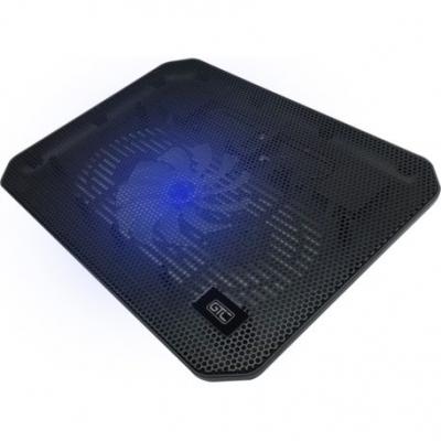 Accesorios Para Notebook Gtc Cooling Pad Cpg-012 Metal Con Luz Hasta Notebook 17
