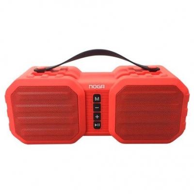 Parlantes  Bluetooth Noganet Ng-bt011 Rojo