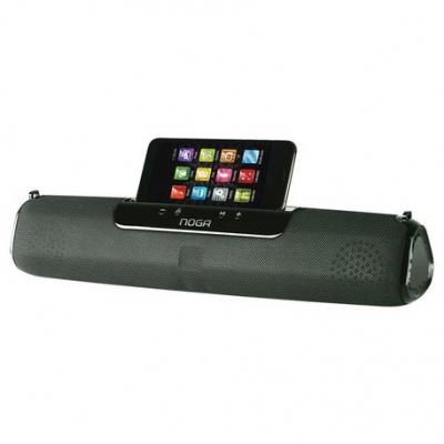Parlantes  Bluetooth Noganet Ng-bt1026 Manos Libres Apoya Celular Y Correa De Traslado