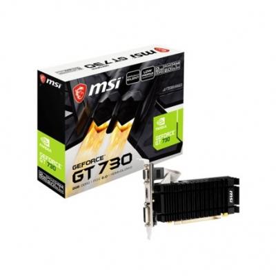 Placas De Video Msi Geforce Gt 730 2gb Ddr3 N730-2gd3v3