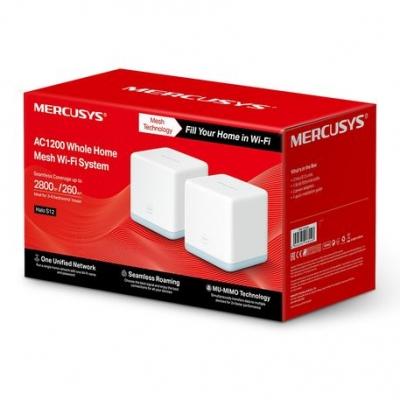 Deco Mesh Mercusys Halo S12 Pack De 2 Mesh Ac1200 Wifi System