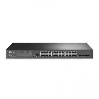 Switch Tp-link Tl-sg3428 24 Gigalan + 4 Sfp  Administrable  Jetstream Rack