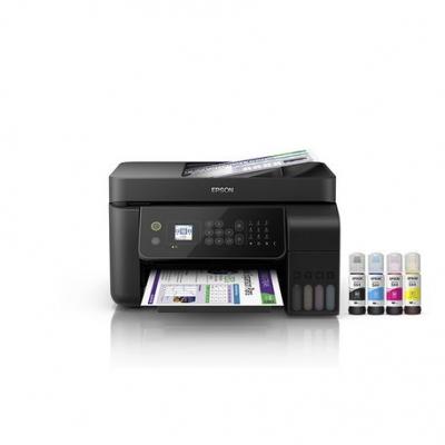 Impresoras Chorro A Tinta Epson Multifuncion L5190 Ecotank Wifi Red